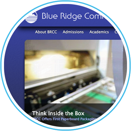 Blue Ridge Community College Website