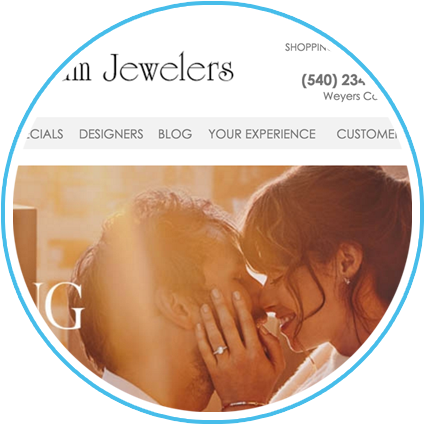 Christopher Williams Jewelers Website
