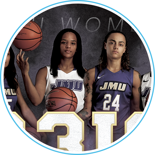 JMU Women's Basketball Poster