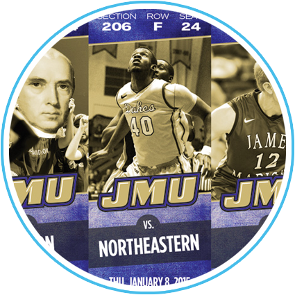 2014-15 JMU Men's Basketball Ticket Sheet